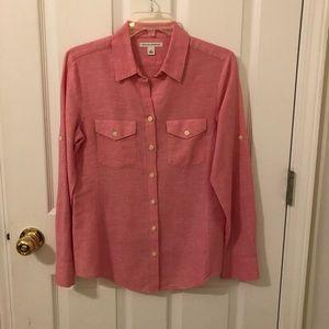 Banana Republic Linen Blend Shirt